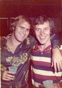 The future Willie Earl with Pledge Brother, Greg Bowers in 1974