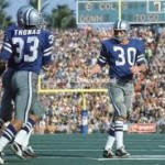 Duane Thomas and Dan Reeves in Super Bowl V